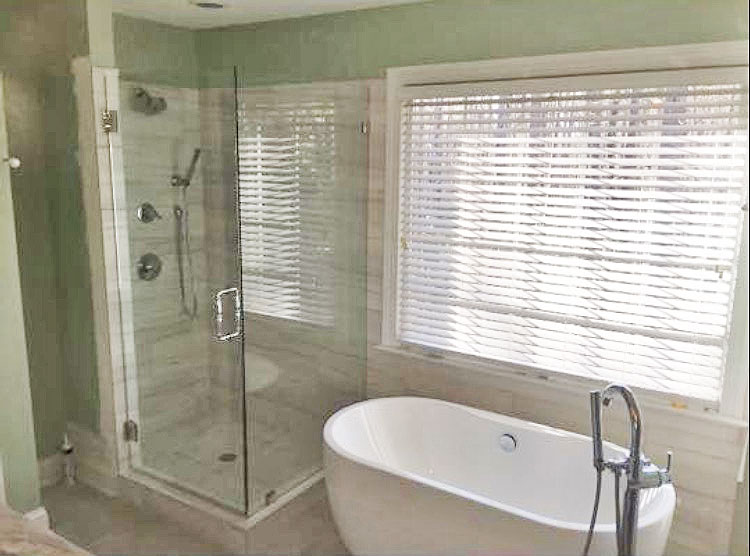 BATHROOM REMODELS 10 13 2016 Full Glass Shower Enclosure7 Apex