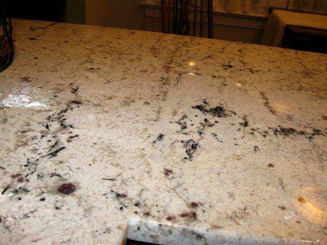 Snow Drift Granite : Granite in cary after