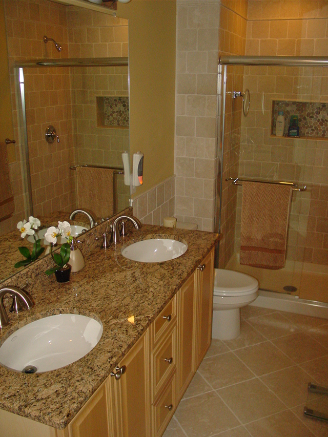 Bathroom Projects Granite Tile By Showcase Design Marble Granite
